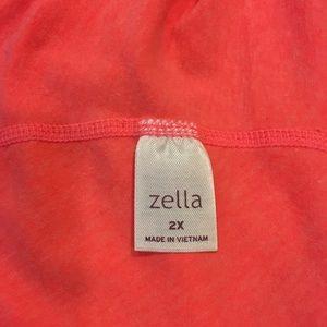 Zella Tops - Zella Coral Workout Top, Size 2x